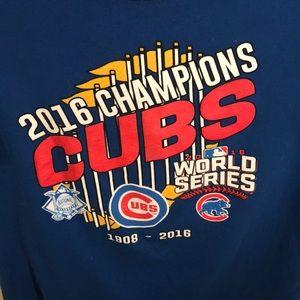 2016 Chicago Cubs World Series T-shirt size 2XL